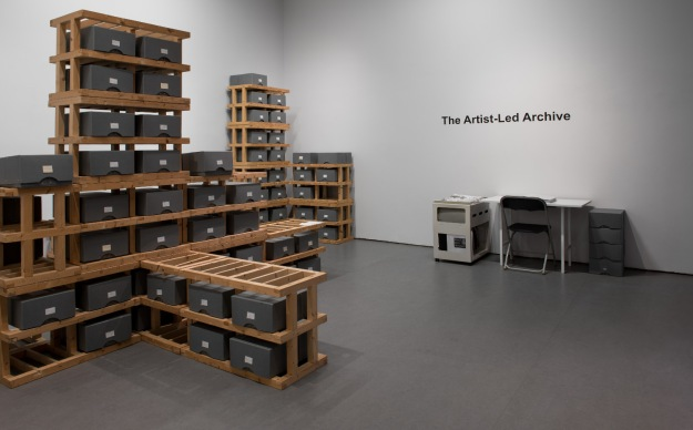artist led archive sml