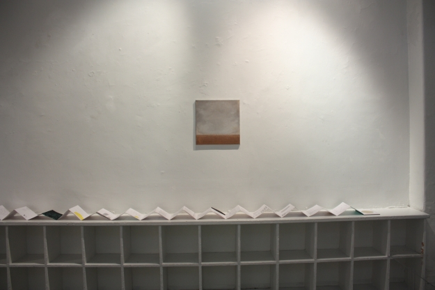 Gillian Lawler (painting), Jessica Foley (concertina book)