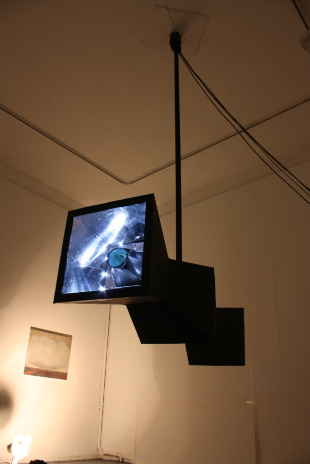 Probe, responsive mixed & digital media sculpture, Paul Green & Mark Cullen